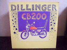 """LP 12"""" DILLINGER - CB 200 (Honda) - EX/NM - MANGO - MLPS-9385-A - USA - REGGAE"""