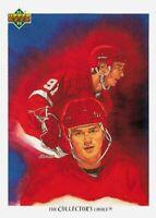 1991-92 Upper Deck Sergei Fedorov #82 HOF