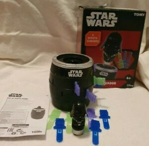 Children's Kids Tomy STAR WARS Pop Up Darth Vader Game with sounds Used