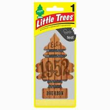 Bourbon 1952, NEW Little Trees Hanging Car and Home Air Freshener, (Pack of 12)