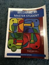 Kaplan Becoming A Master Student Dave Ellis 11th Edition Book
