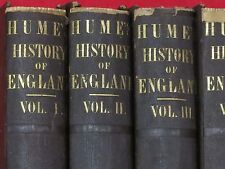 1851 ~ THE HISTORY OF ENGLAND ~ DAVID HUME / 6 VOLUMES