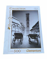 Clementoni Florence Italy High Quality Travel Collection 500 Piece Jigsaw Puzzle