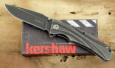 * 1303BW Kershaw Manifold pocket knife plain edge Assisted Opener knives NIB New