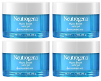 Neutrogena Hydro Boost Water Gel Face Moisturizer, Hyaluronic Gel, 1.7 Oz (4 Pk)
