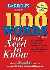 1100 Words You Need to Know, Murray Bromberg, Melvin Gordon, Good Book