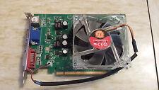 NVidia Geforce 8500GT 256Mb DDR2 PCI-E x16 Grafikkarte DVI VGA TVout