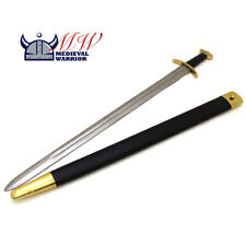 Medieval Warrior Battle Ready Viking Sword Savage Brass Collector Tempered Steel