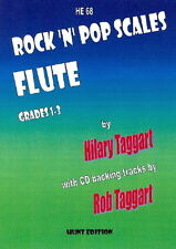 Rock 'N' Pop Scales for FLUTE with FREE CD- Grade: 1 - 3, FLUTE SCALES, HE68