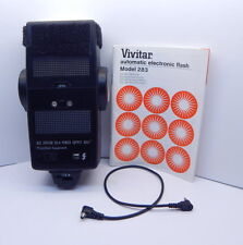 VIVITAR Automatic Electronic Flash Model 283 JAPAN USED WORKING R13002