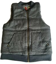 Carter's Toddler Boys Faux Sherpa Zippered Vest Size 5T NEW