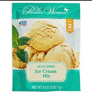 Pioneer Woman Salted Caramel Ice Cream Mix