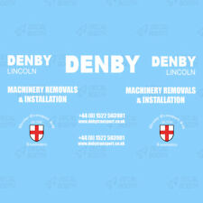 DENBY HEAVY HAULAGE DECAL SET 1:50 SCALE