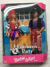 Barbie and Ken Halloween Party Set Nrfb