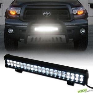 120W CREE LED Work Light Bar Spot Flood Off-Road Fog Lamp For SUV Van Truck V05