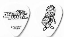 After The Burial black/white tour guitar pick