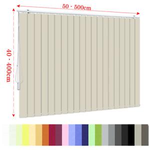Lamellenvorhang nach Maß, Lamellenvorhänge bis 250cm Breite, nur15,90 € per m² !