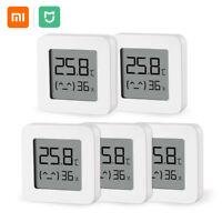 5 Pcs Xiaomi Mijia Bluetooth Thermometer 2 Wireless Smart Digital Hygrometer