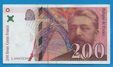 Gertbrolen  200 Francs EIFFEL Type 1995 Billet L000535086