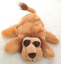 """Yellow Brown 9"""" Lion Hand Puppet with Brown Eyes"""