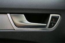 Audi A4 A5 S4 RS4 S5 RS5 Alu 2 Zierrahmen Türöffner vorn Quattro S-line 8K B8 8T