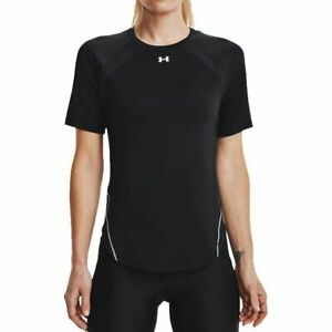 Under Armour CoolSwitch T-Shirt Women's Black Sportswear Top Activewear Tee
