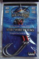 Hameçons jig Williamson Steel Wire Hooks 9/0 10,5cm