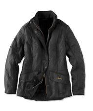 Barbour Jacket Coat Cavalry Polarquilt Black LQU0087BK UK Size 18 U.S Size 14