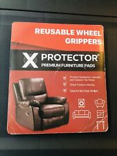 New listing X-Protector rubber furniture pads reusable wheel grippers