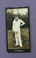 More details for f & j.smith -cricketers (2nd series) 1912, #67, t.a. ward, south africa