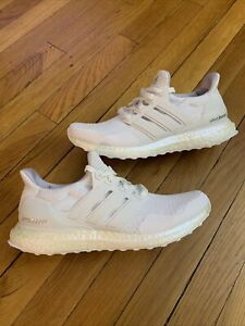 Adidas Ultraboost Running Shoes Cloud Crystal White FY2898 Women's Szs 7.5 - 10