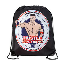 WWE JOHN CENA HUSTLE LOYALTY RESPECT DRAWSTRING BAG NEW