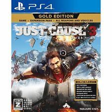 Square Enix Just Cause 3 Gold Edition SONY PS4 PLAYSTATION 4 JAPANESE VERSION