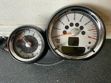 GENUINE USED MINI ONE COOPER S JCW R57 R59 TACHO REV COUNTER WITH ROOF TIMER