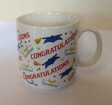 GRADUATION CONGRATULATIONS Mug Tea Coffee Cup College University Degree Exams