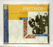 FRETWORK ENSEMBLE - BYRD, DOWLAND, GIBBONS, LAWES - VIRGIN CD NM