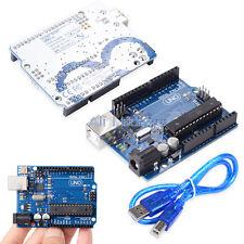 UNO R3 ATmega328P ATMEGA16U2 Board For Arduino Compatible+USB Cable AM