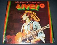 BOB MARLEY & the Wailers LIVE!  LP SEALED MINT Island ILPS-9376