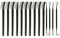 """14pc 7"""" Double Ended Gun Cleaning Brush Pick Set"""