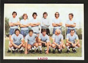 RARA FIGURINA CALCIATORI CALCIO SQUADRE BAGGIOLI ? 1976 LAZIO