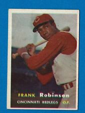 1957 TOPPS REDLEGS FRANK ROBINSON ROOKIE CARD # 35