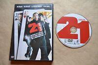 21 BLACK JACK    DVD PELICULA COMPLETA  FILM DVD