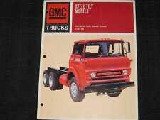 1967 GMC Trucks Steel Tilt Cab Catalog Sales Brochure