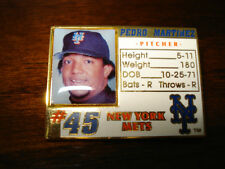 New York Mets Pedro Martinez #45 Goldtone Stat Pin