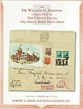 United States 1890 Small Bank Note Issue - Siegel Auction Catalog