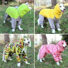 Waterproof Dog Raincoat Small Medium Large Dog Rain Jacket Closed Belly Cuttable