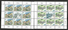 SERBIA-MNH** S/S-EUROPA CEPT-CASTLES-FORTRESS-2017.