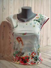 "ANATOPIK T-shirt femme DINO ""botticelli""  T36 rose neuf 85€ été 2016"
