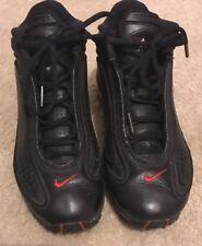 "Men's Nike Ken Griffey Jr ""G6""  Athletic Tennis Shoes  Black Leather  Size 8"