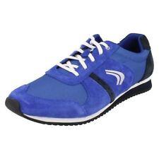 Chaussures bleus à lacets en daim pour garçon de 2 à 16 ans